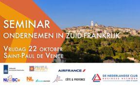 Seminar Ondernemen in Zuid-Frankrijk